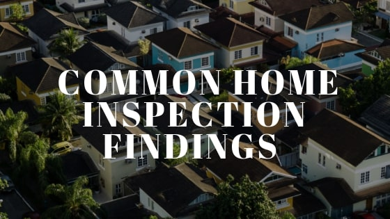 common_home_inspection_issues
