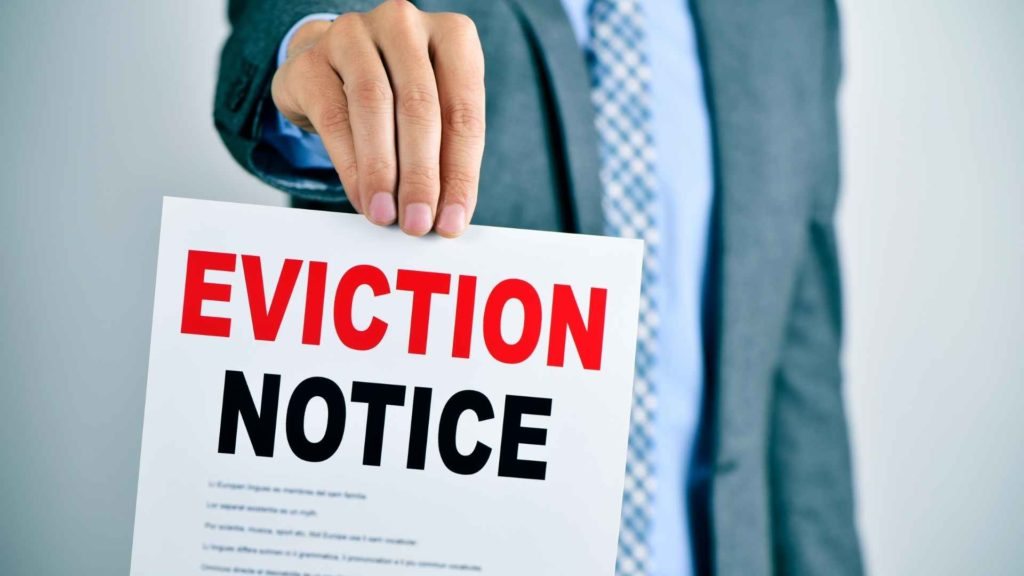 eviction notice MO